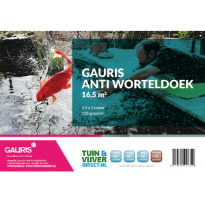 Gauris anti worteldoek (3.30 x 5 meter (16.5 m2))